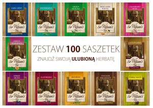 Sir William's Tea wybierz 100 herbat z 13 smaków