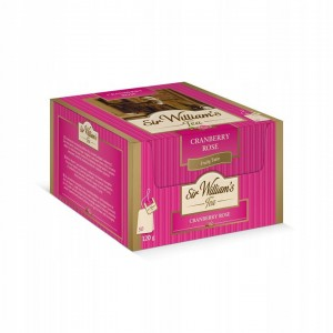 Sir William's Tea Cranberry Rose 50 herbat